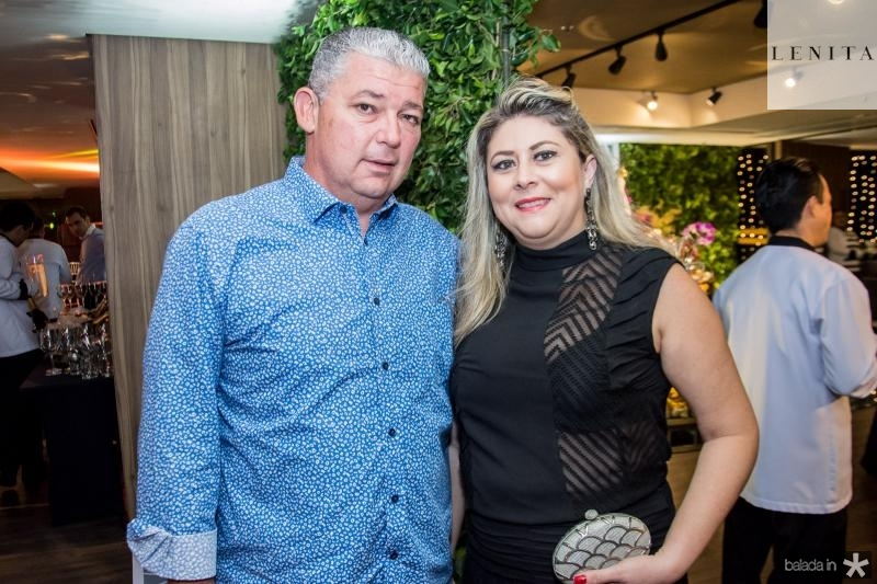 Enio Arruda e Liana Aragao