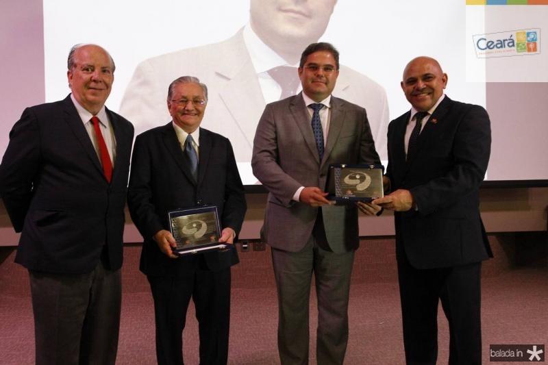 Claudio Conz, Francisco Lavanery, Edson Queiroz e Carlito Lira 1
