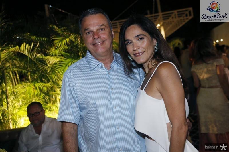 Ernani Prudente e Luciana Pontes