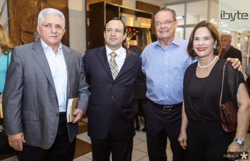 Deusmar Queiros, Igor Barroso, Valman e Cristina Miranda