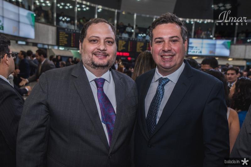 Reinaldo Salmito e Samuel Dias