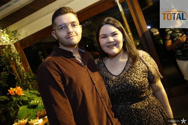 Francisco Junior e Amanda Picanco