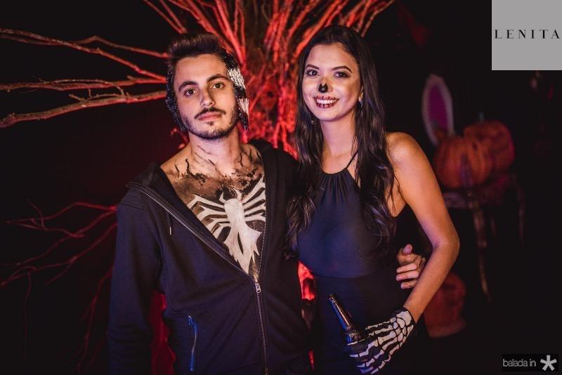 Emanuel Maia e Izabele Lima