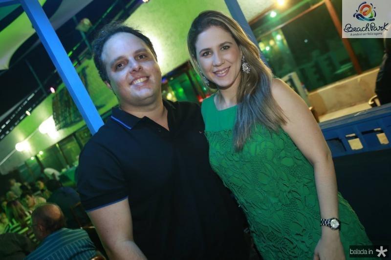 Daniel e Ana Paula Aragao