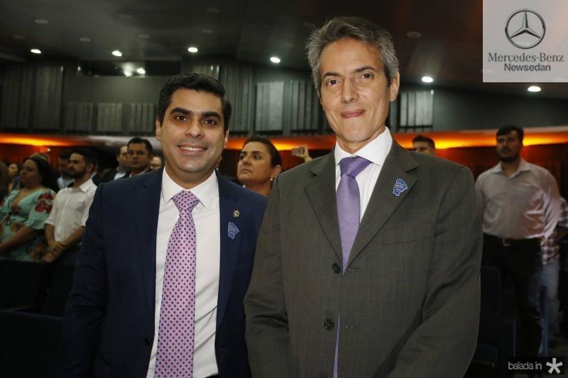 Queiroz Filho e Leo Alcantara