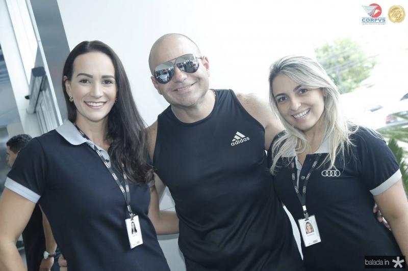Deyse Terra, Gostozinho e Fernanda Ary