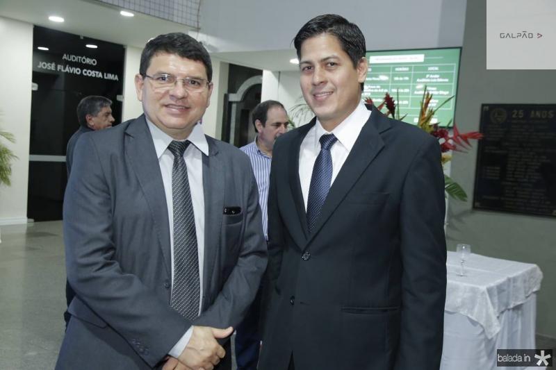 Sergio Lopes e Daniel Furlane