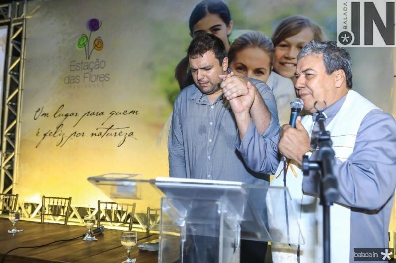 Pastor Yhoran Ignans e Dom Fernando