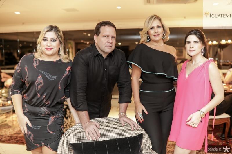 Manu Romcy, Edson Ventura Filho, Marcia Peixoto e Marilia Vasconcelos