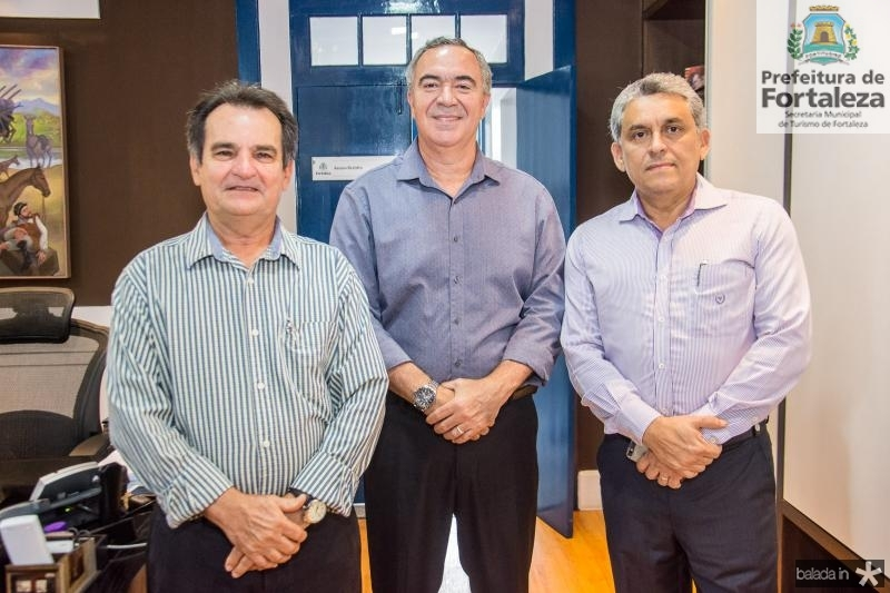Felipe Norttigan, Luis Eduardo e Jurandir Gurgel