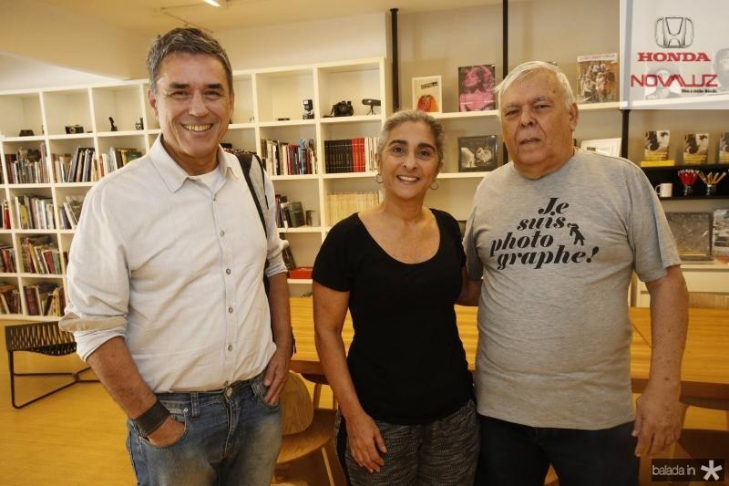 Pedro Ortale, Suuzi Costa e Franze Santos