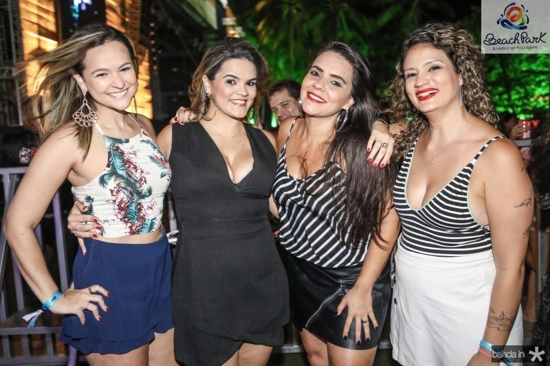 Naiana Albuquerque, Livia Cavalcante, Germana Joia e Marilia Cavalcante