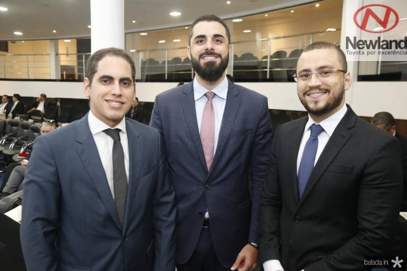 Bruno Araripe, Andre Xerez e Renan Saldanha