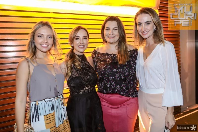Thias Lopes, Kaline Ferraz, Mariana Sasso e Patricia Nilsen