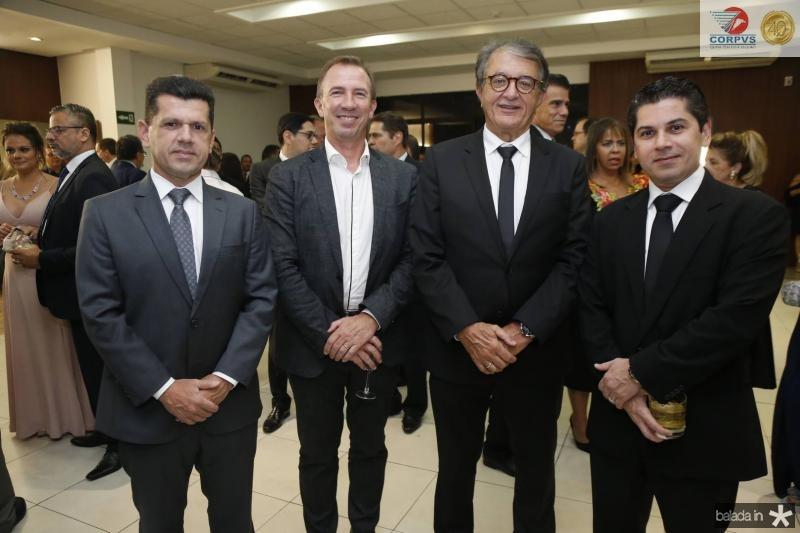 Erick Vasconcelos, Philip Godofruan, Arialdo Pinho e Pompeu Vasconcelos