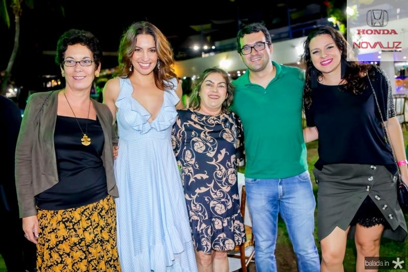 Margarida Ernandes, Laura Ramos, Ana Lucia, Deodato Neto e Paula Ramalho