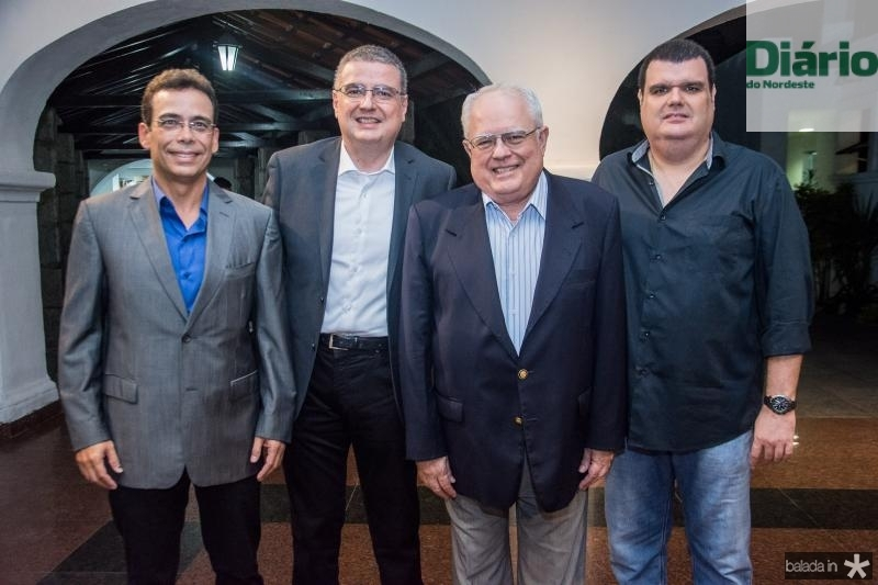 Gustavo Porto, Luis Fernando Mota, Gonzaga Mota e Gonzaga Mota Filho