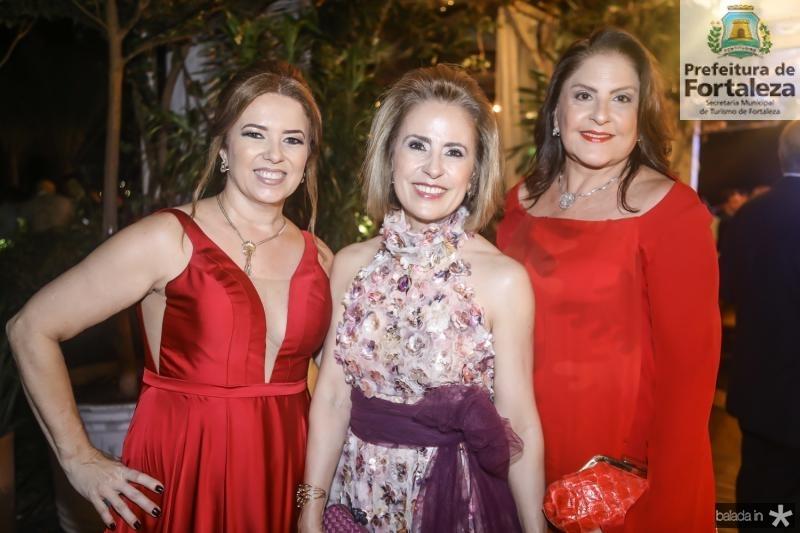 Ines Cavalcante, Terexa Ximenes e Celina Fiuza