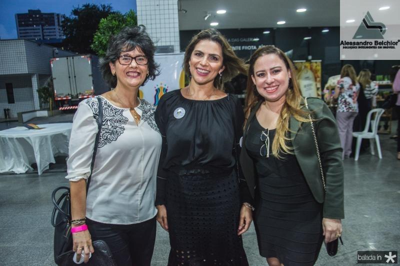 Cristina Viriato, Marcia Vale e Camila Fernandes