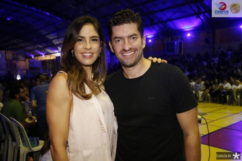 Marilia Fiuza e Paulo Benevides