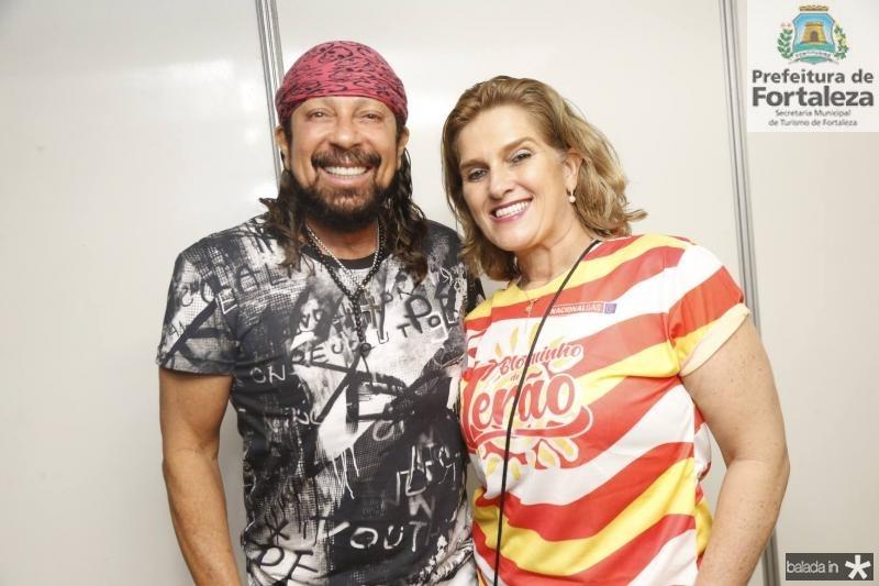 Bell Marques e Lolo Moreira