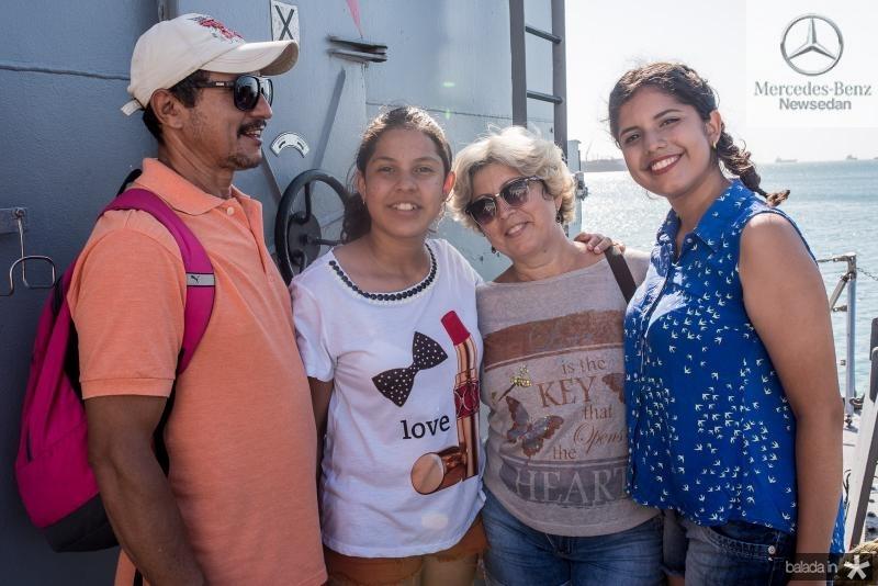 Jose Arlindo, Julia oliveira, Maria Uchoa e Larrisa Oliveira