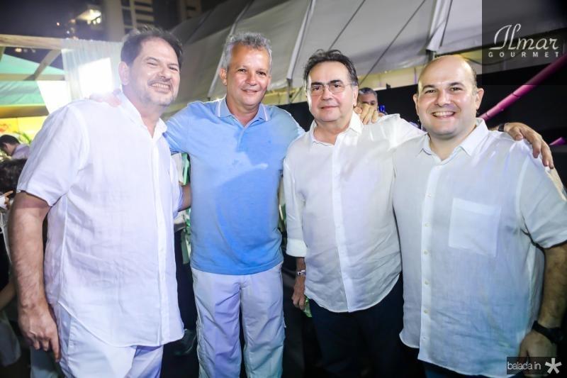 Cid Gomes, Andre Figueiredo, Leonidas Cristino e Roberto Claudio