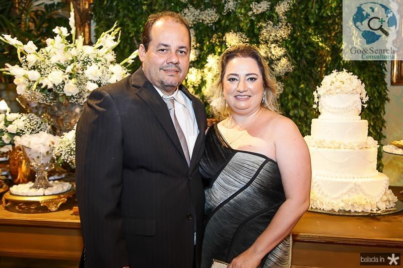 Marcelo Barros e Mirela Bessa