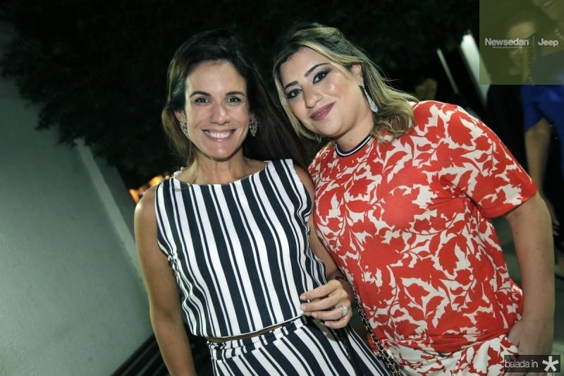 Ana Virginia Martins e Manu Romcy