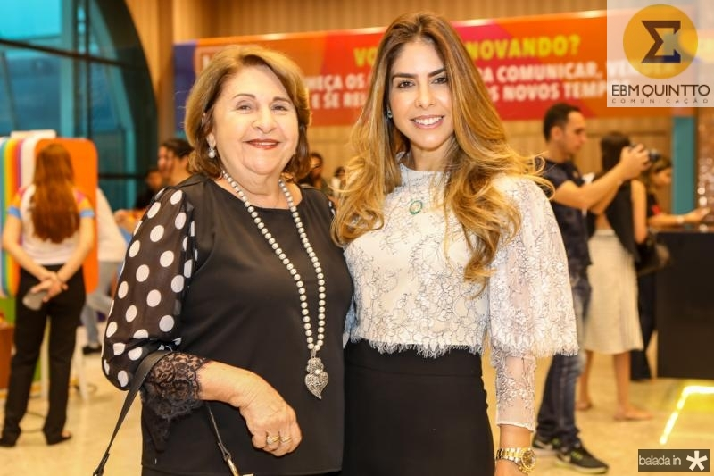 Vera Silveira e Rafaela Otoch