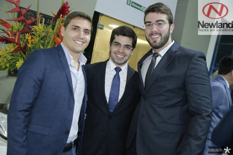 Jose Antunes, Pedro Garcia e Igor Pinheiro