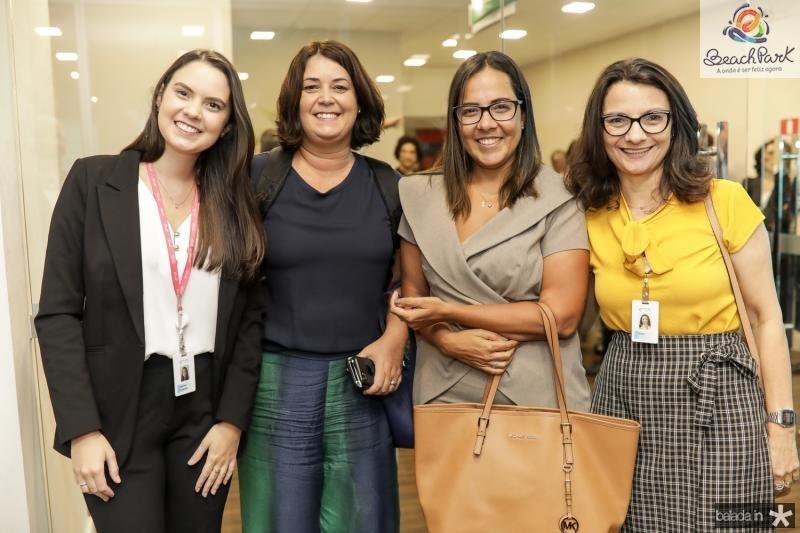 Marina Queiroz, Patricia Varela, Claudia Guimaraes e Anaci Braga