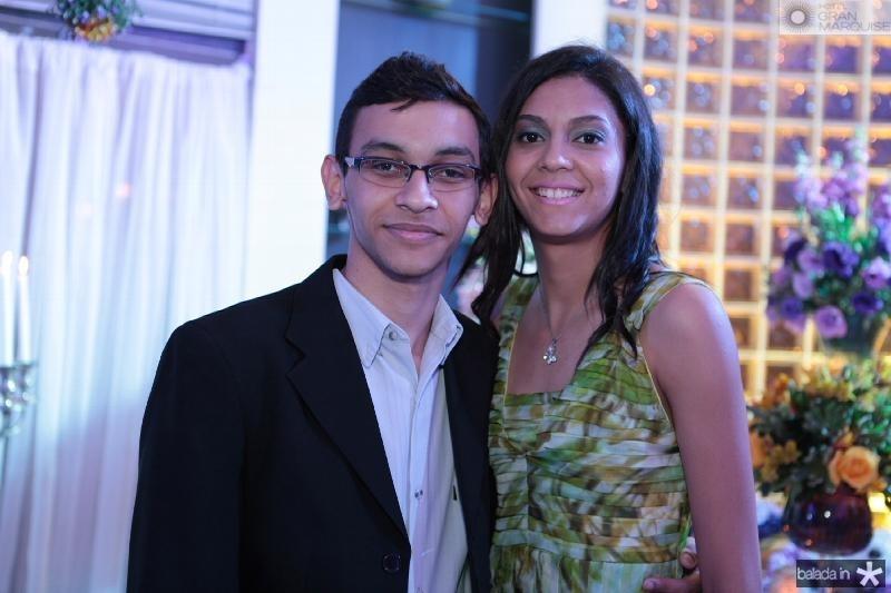 Felipe e Amanda Nunes