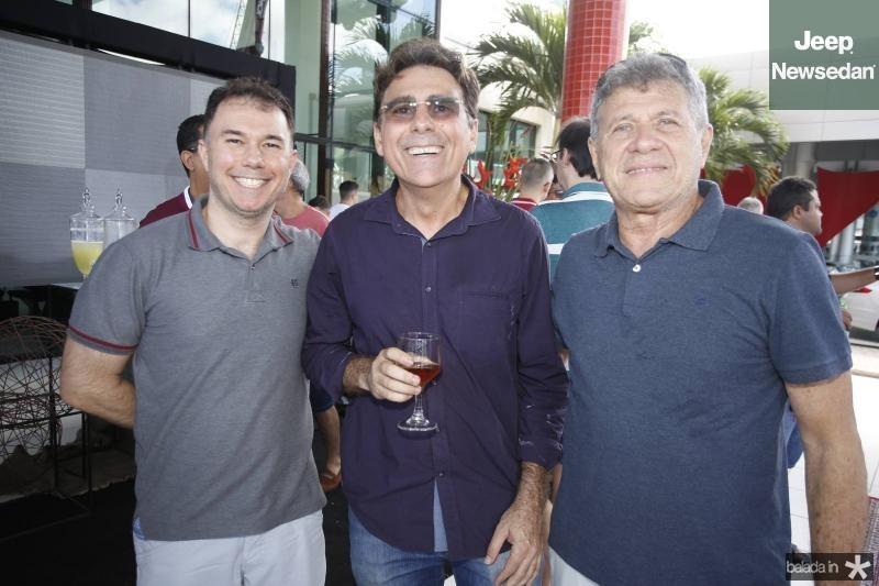 Hasten Frota, Clever Ponte e Airton Fernandes