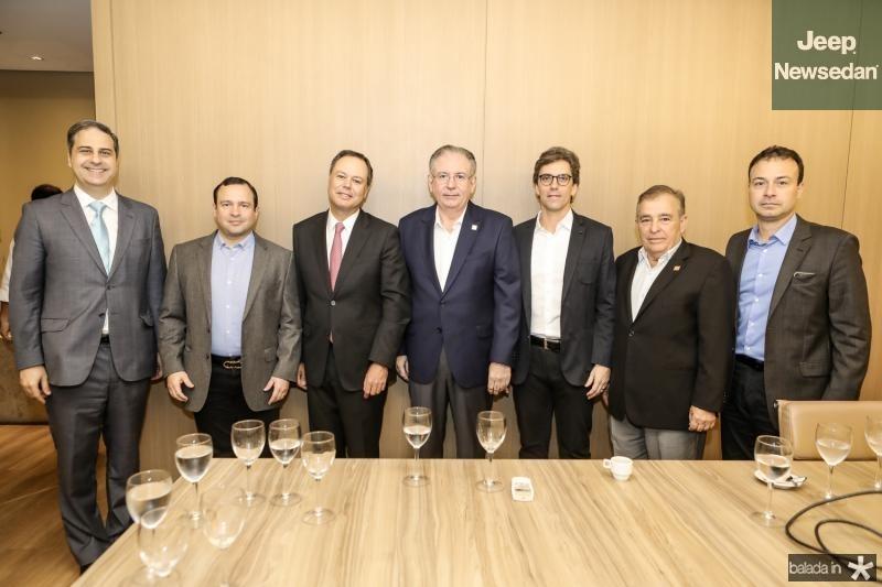 Erinaldo Dantas, Igor Barroso, Gregorio Gutierrez, Ricardo Cavalcante, Ruy do Ceara, Claudio Targino e Danilo Serpa
