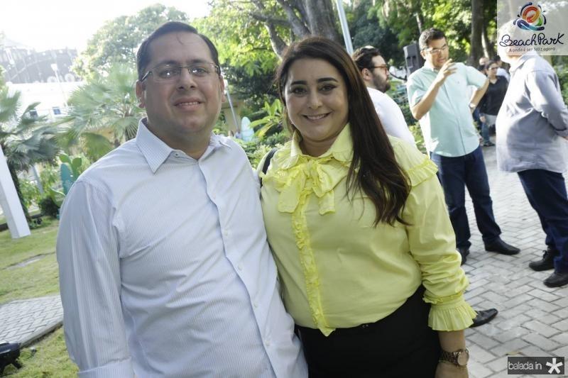 Cicero Barros e Mara Tavora