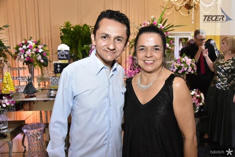 Eduardo Galdino e Gloria Botelho
