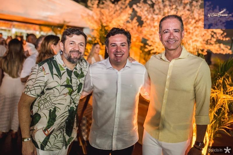 Elcio Batista, Samuel Dias e Regis Medeiros