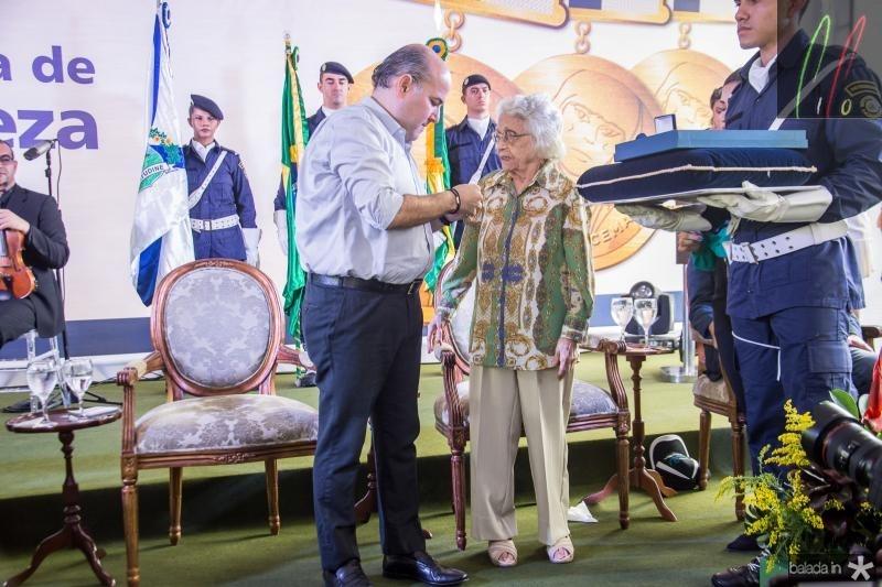 Ciro Gomes e Maria Adisia Barros de Sa