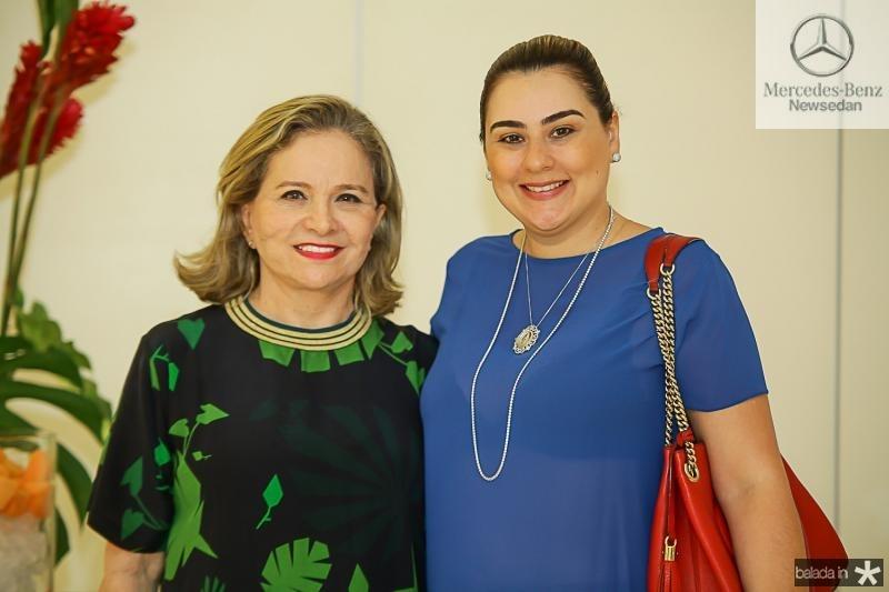 Natercia Jereissati e Lia Pinheiro