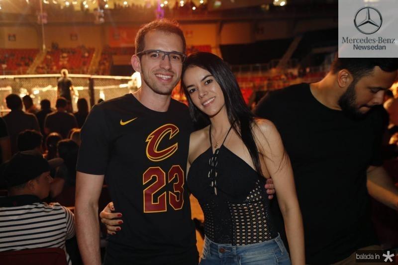 Lucas Coelho e Alana Batista