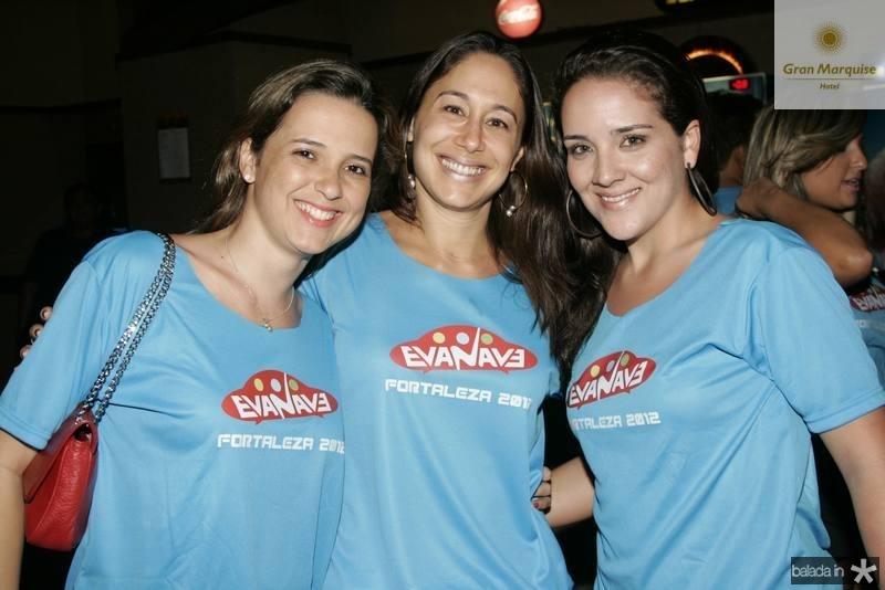 Viviane Rocha, Larissa Coelho e Natalia Marques