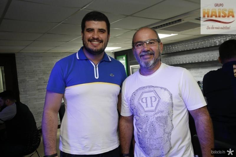 Yan Sanders e Joaquim Filho