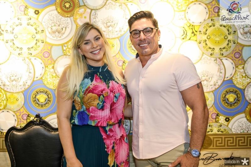 Genice Brandao e Ricardo Vale