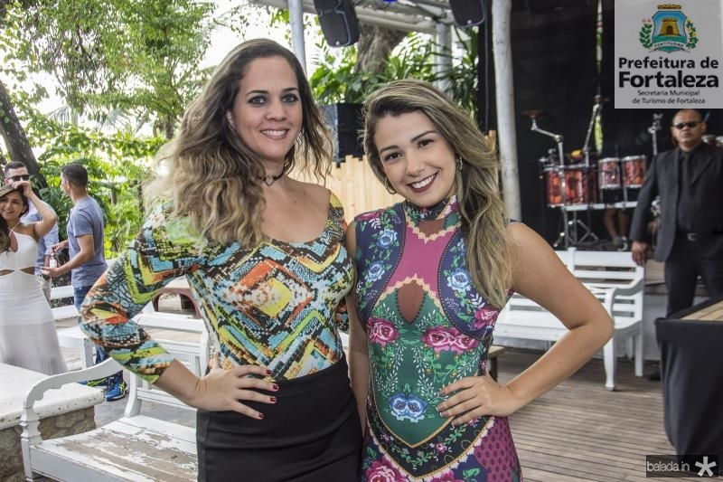 Emanuela Salviano e Samile Costa