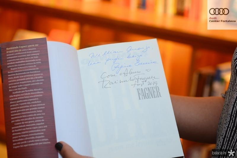 Livros autografados