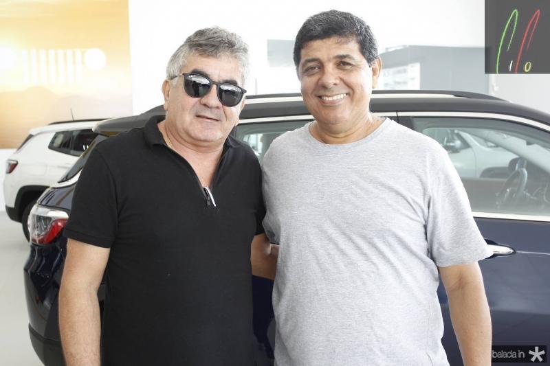 Tony Luiz e Afranio Menezes