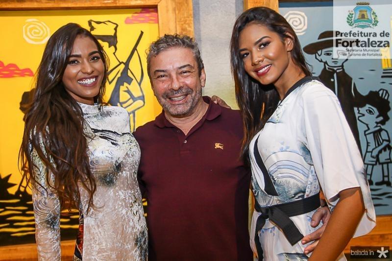Anaisa Ferreira, Claudio Silveira e Paula Davila