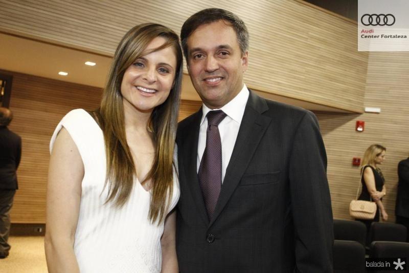 Ana Virginia Furlane e Fernando Novaes