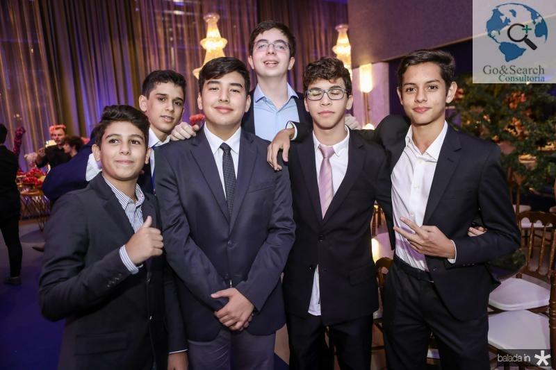 Carlos Castelo, Thiago Ricardo, Gabriel Yang, Lucas Aragao, Valdemir Filho e Alexandre Modesto